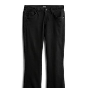 Like New - Just Black Adriena Frayed Bootcut Jeans